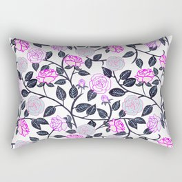 Rose Delight Rectangular Pillow