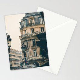 France Photography - Beautiful Architecture In Paris Stationery Cards