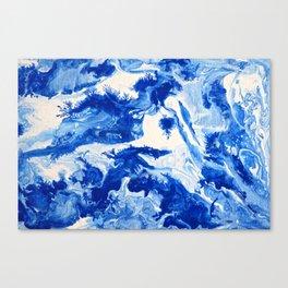 Feeling the Blues 1 Canvas Print