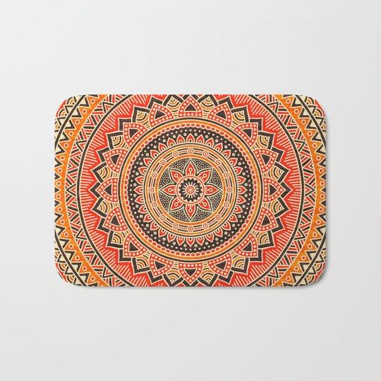 Hippie Mandala 12 Bath Mat