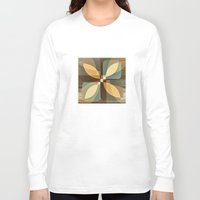 clover Long Sleeve T-shirts featuring clover by Julia Tomova