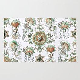 Ernst Haeckel - Trachomedusae (Jellyfish) Rug