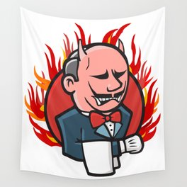 Jenkins on Fire Wall Tapestry