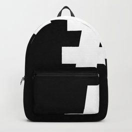 Hash Sign (White & Black) Backpack