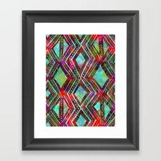 KENYA - Aqua Framed Art Print