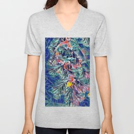 Winter Collection Xmas Anniversary Cards Unisex V-Neck