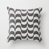 rio Throw Pillows featuring Rio by Aline Krenzinger