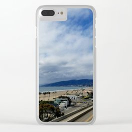 Palisades Park Overview Clear iPhone Case
