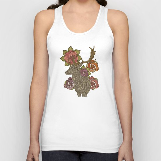 Dear deer Unisex Tank Top