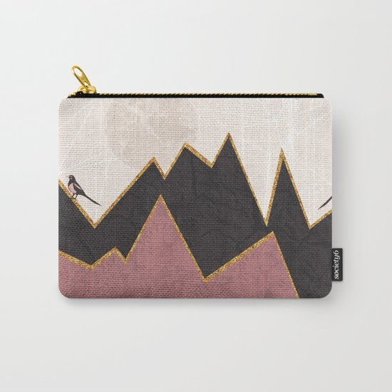 Velvet Carry-All Pouch