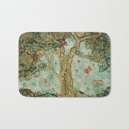 Autumn tranquility Bath Mat
