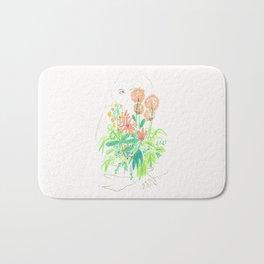 Flower flower Bath Mat
