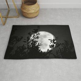 Full Moon Leaves Rug
