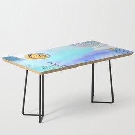 Blue Garden II Coffee Table