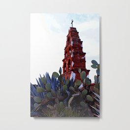 Mission in ruin - color Metal Print