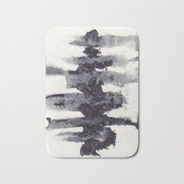 the spinal column Bath Mat