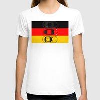 german T-shirts featuring German Horsepower by Blayde