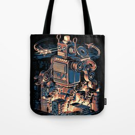 Night of the Toy Tote Bag