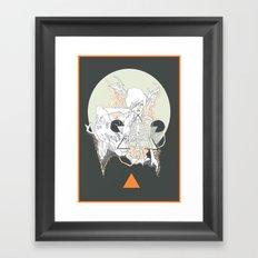 moon stone Framed Art Print