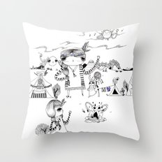 Dancing with me :) Throw Pillow
