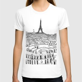 Paris Rooftops T-shirt