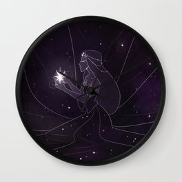 Queen of the Stars Wall Clock