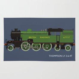 Thompson L1 2-6-4T Rug