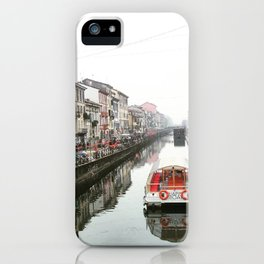 Milano Navigli - Italy iPhone Case