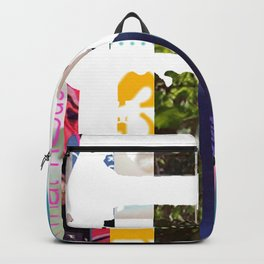 Electric Guitar | Magazine Strip Art Backpack