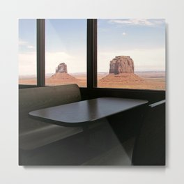 Mystic Land of Monument Valley Metal Print