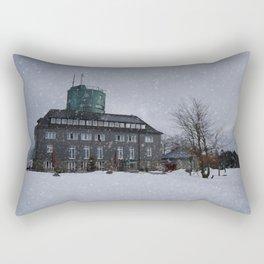 Snowy Kahler Asten Tower Rectangular Pillow