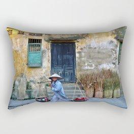 Vietnamese Street Sound Rectangular Pillow