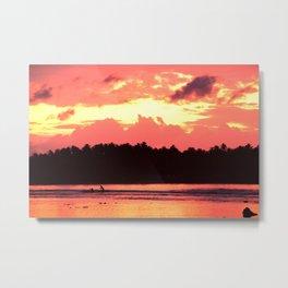 Sumatran Sunrise Metal Print