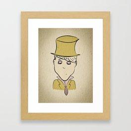 Hatter Framed Art Print