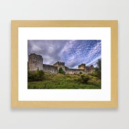 Chepstow Castle Walls Framed Art Print
