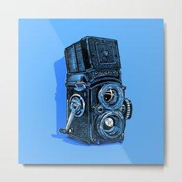 Rolleiflex - vintage film camera Metal Print