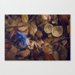 Autumn Slumber Canvas Print