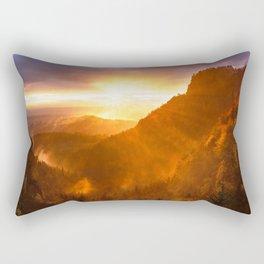 Hug Me In The Sun Rectangular Pillow