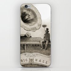 The Chimney Sweep (Monochrome) iPhone & iPod Skin
