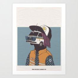 2013 - CALENDARIO CROCE D'ORO CERVO  Art Print