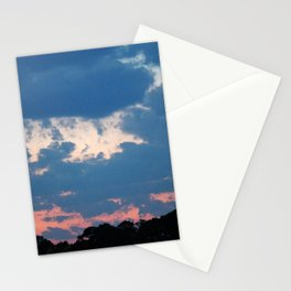 Bold And Colorful Clouds Stationery Cards