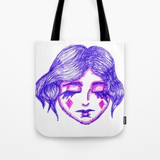 Fool of Diamonds Tote Bag