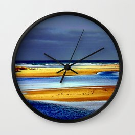 Sandbars Wall Clock