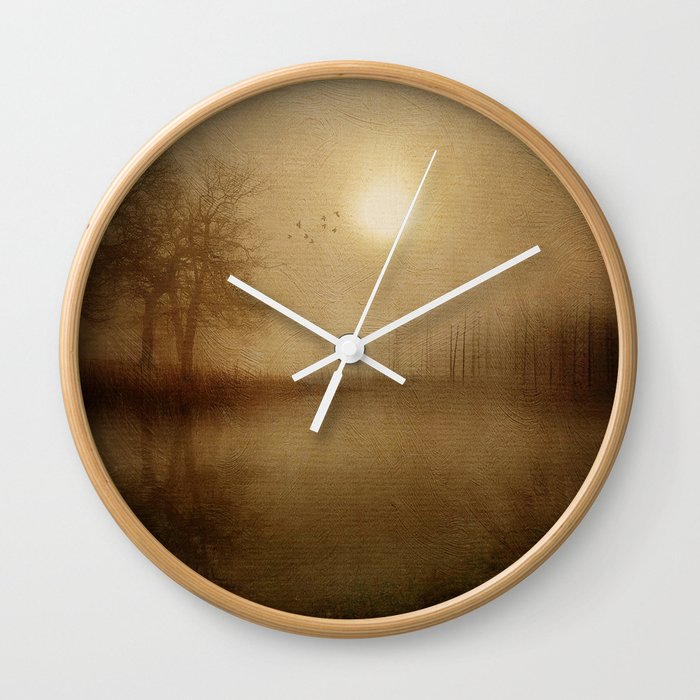 From the morning Wall Clock
