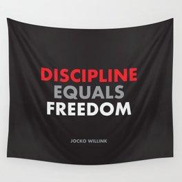 """Discipline Equals Freedom"" Jocko Willink Wall Tapestry"