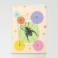 bug Stationery Cards featuring bug by mark ashkenazi