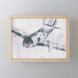 Focke-Wulf Fw 190 Framed Mini Art Print