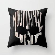 NU skull Throw Pillow