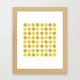 Oranges, Lemons, and Limes Oh My! Framed Art Print