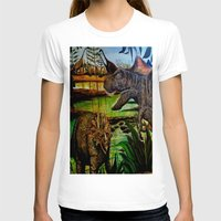 dinosaurs T-shirts featuring DINOSAURS by shannon's art space